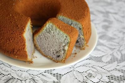 Ube (Purple Yam) Chiffon Cake | Sweet Breads | Pinterest