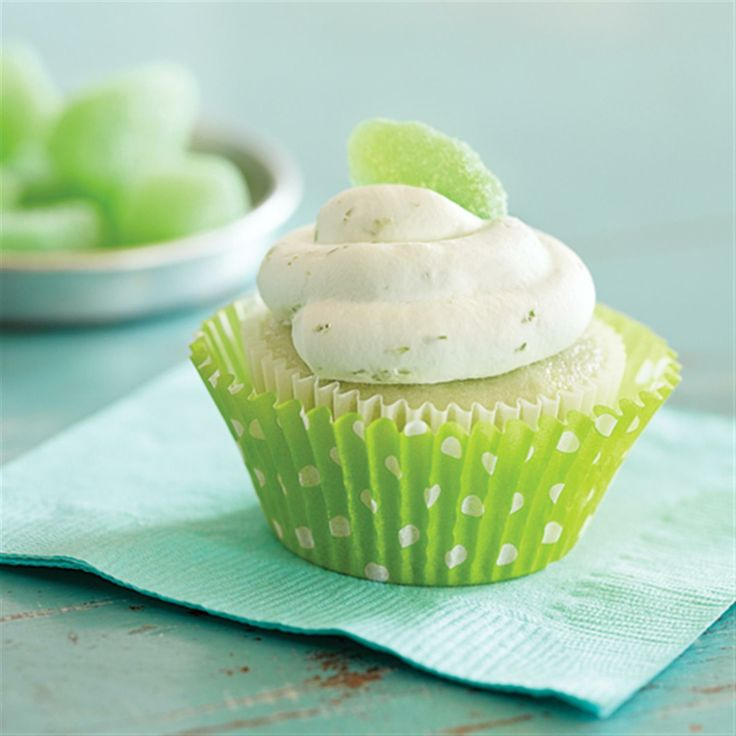 Key Lime Cupcakes with Whipped Cream Frosting | Recipe