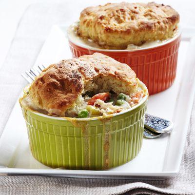 Lighter Chicken Pot Pie Recipe | In the kitchen: savory pies | Pinter ...