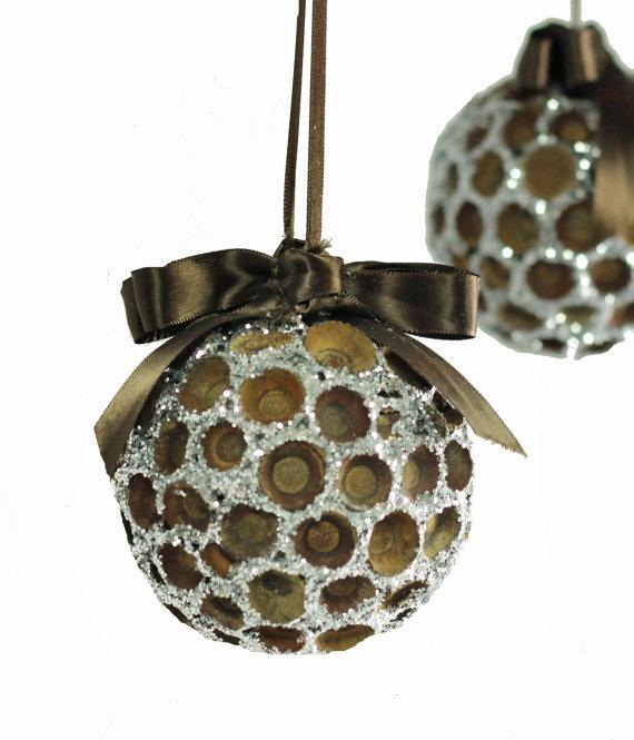 Acorn cap sparkle ornament christmas crafts pinterest for How to make acorn ornaments