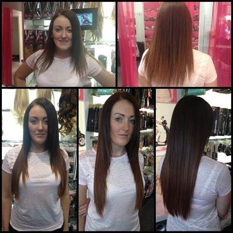 Hairspray Pre Bonded Extensions 36