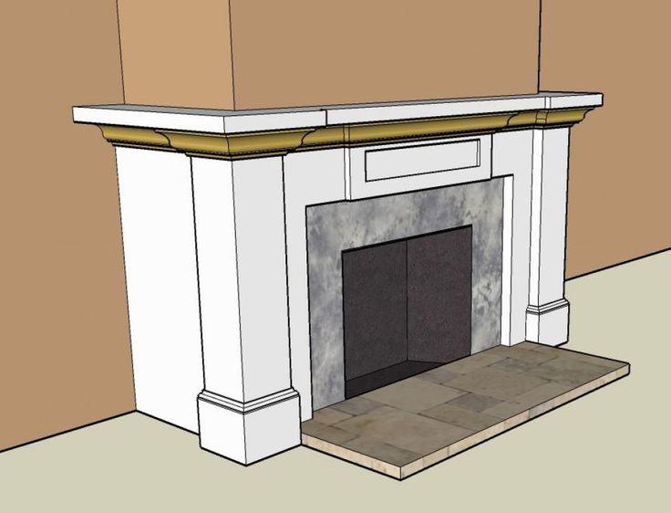 Fireplace Mantel Design Part 2