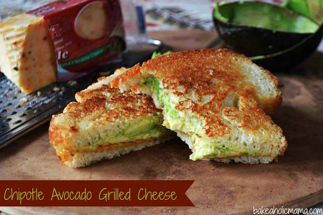 Chipotle Avocado Grilled Cheese Sandwich | Food and Drink | Pinterest
