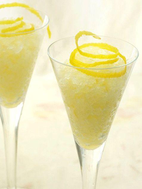 Zesty Lemon Granita | EAT! | Pinterest