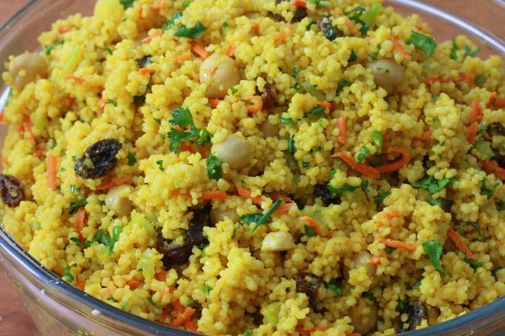Curried Couscous Salad; sub: cilantro, and cumin. -JH. Repeatable ...