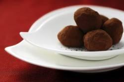 Chocolate Truffles using stevia