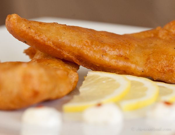 Beer Battered Fried Fish- Wade and Kailey loved it...I don't like fish ...