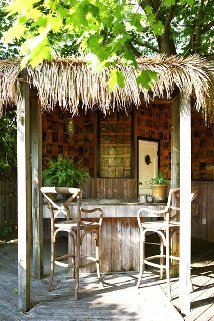 Outdoor Tiki Bar Outdoor Living Pinterest