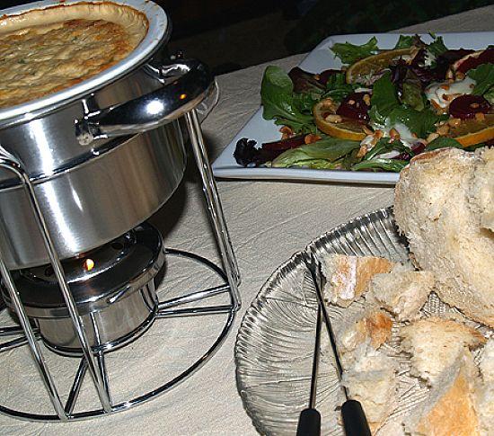 Hot Crab and Shrimp Dip or Fondue | Gather