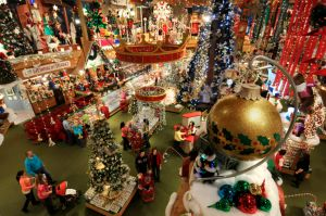 Bronner's CHRISTmas Wonderland in Frankenmuth, MI