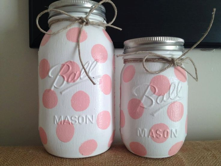 mason jars home decor nursery decor baby shower gift jar