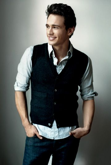 James Franco... I just can't get over his smile!