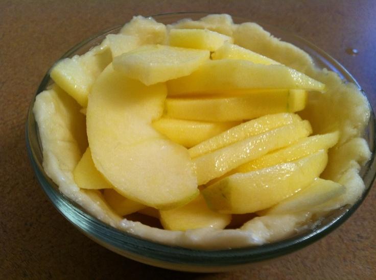 One-Apple Apple Crumble Pie | Recipes 4 2 | Pinterest