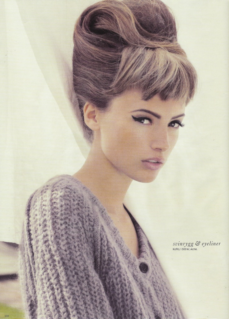 Wish I could pull off short bangs like this - I've always thought they are so cute!
