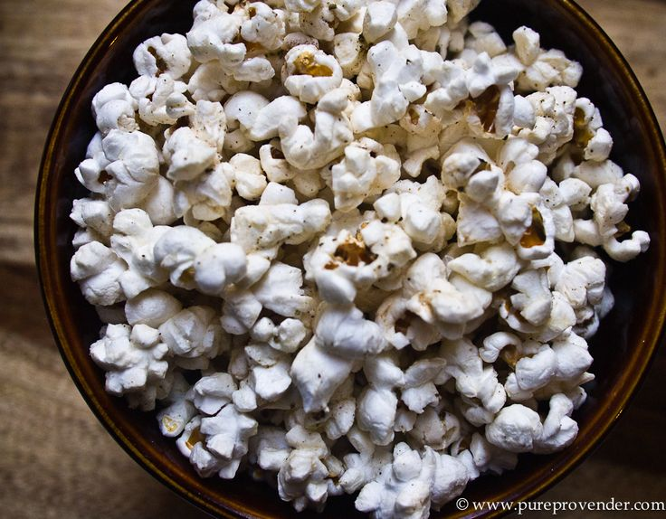 Sage and Brown Butter Popcorn