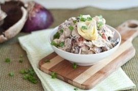 Creamy Lemon Basil Potato Salad | Recipe
