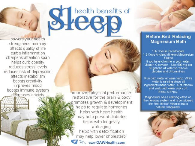 getting enough sleep good for your health We've got 10 reasons why good sleep is so vital for making your life better  the sleep matters club  if your body doesn't get enough sleep, it can react by .