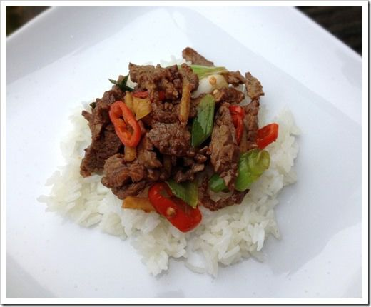 Ginger Beef Stir Fry | Want to Cook, Beef | Pinterest
