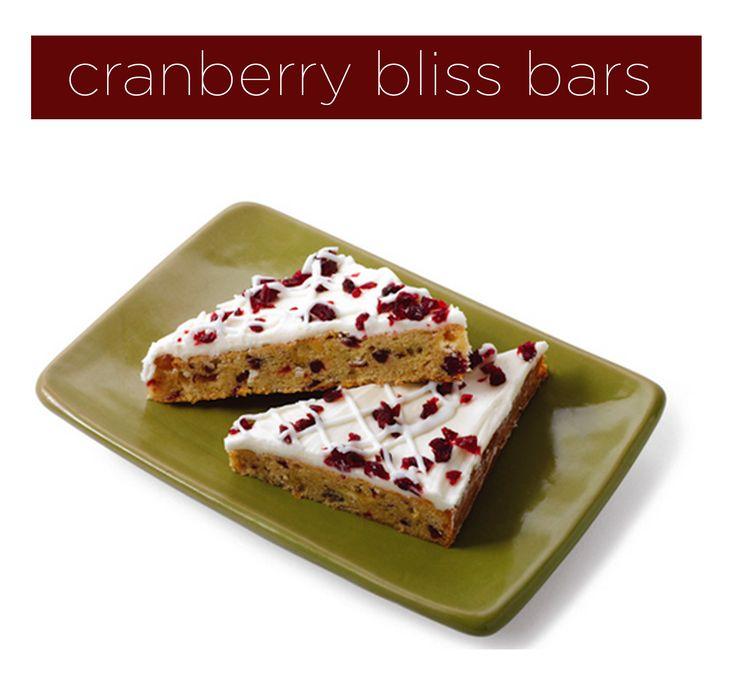 Cranberry Bliss Bars #starbucks