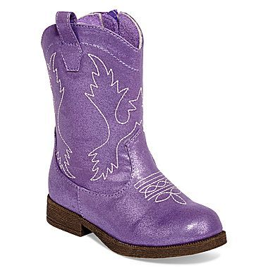 purple toddler cowgirl boots cowgirl party pinterest