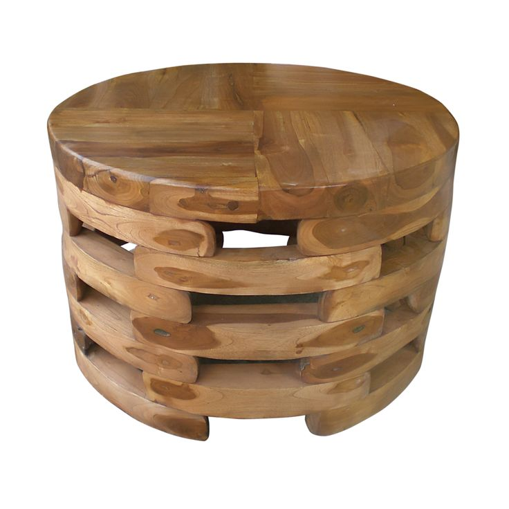 Of Nature Art And Practicality The Natura Open Slat Coffee Table