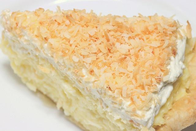 coconut banana creamy pie | Food | Pinterest