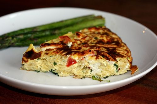 Greek Frittata Recipe — Dishmaps