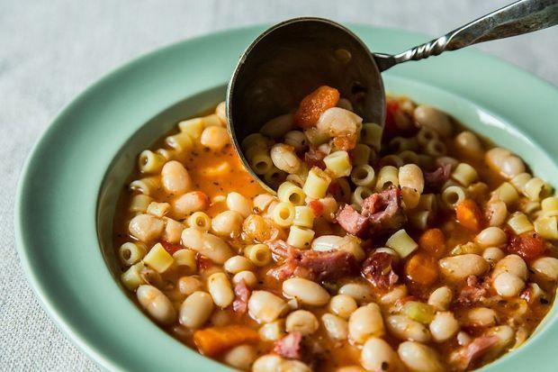 Pasta Fagioli-Hearty Bean Soup | Recipe