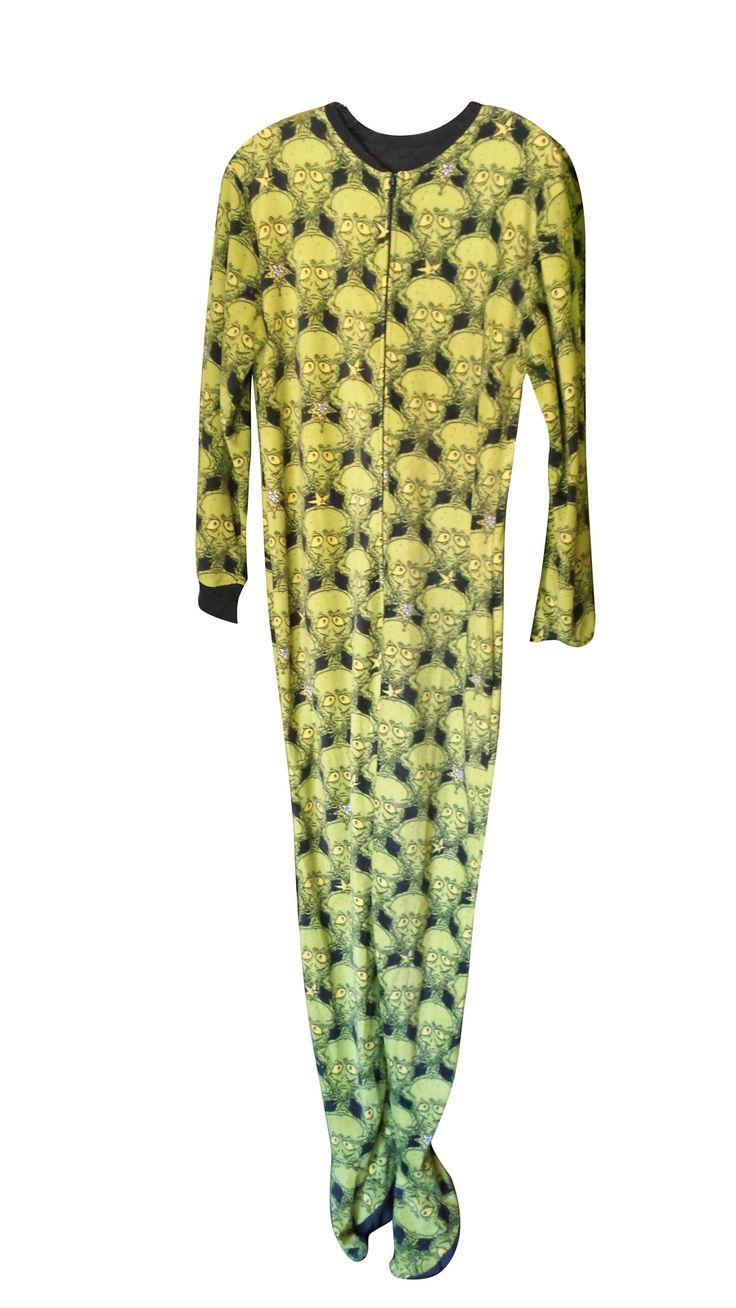 adult dr seuss pajamas 4x