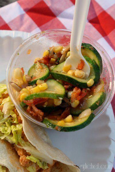 Corn & Zucchini Saute | Veggies | Pinterest
