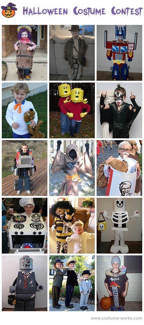 Homemade costumes for boys for Easy halloween costume ideas for boys
