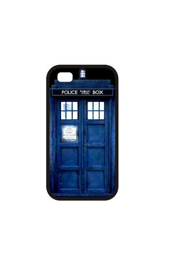 TARDIS iPhone 4 Case $13 —#tardis #iphone #iphone4 #doctorwho #bluebox