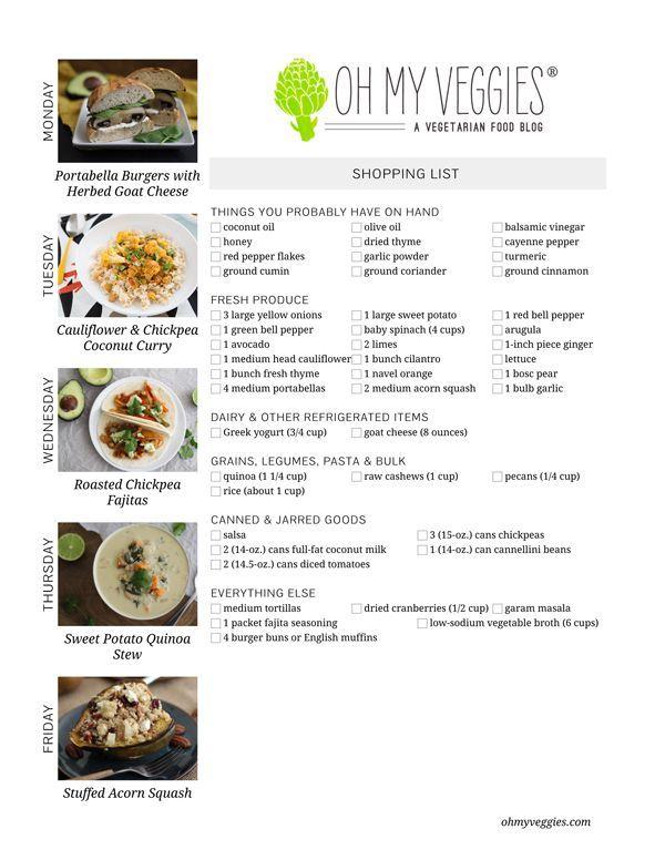 ... Chickpea Curry, Roasted Chickpea Fajitas 2 more vegetarian meal ideas