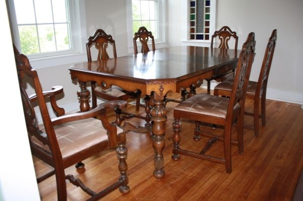 My New Dining Room Set Yeah Baby Made By Rockford Furniture In The Early 1900 39 S Rockford