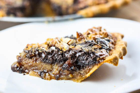 Chocolate Bourbon Pecan Pie: Made this for Thanksgiving this year. It ...