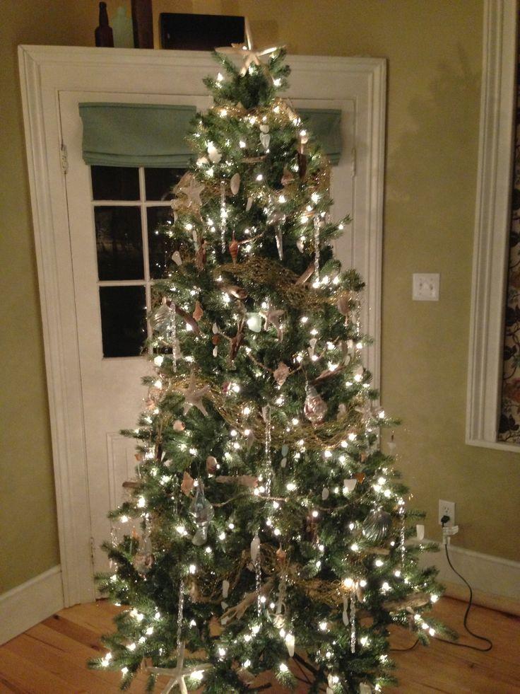 Christmas Decorations For The Beach House : Beach themed christmas tree for my future house