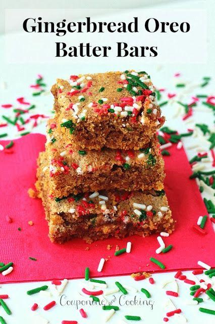 Gingerbread Oreo Batter | cookies,brownies, and candies | Pinterest