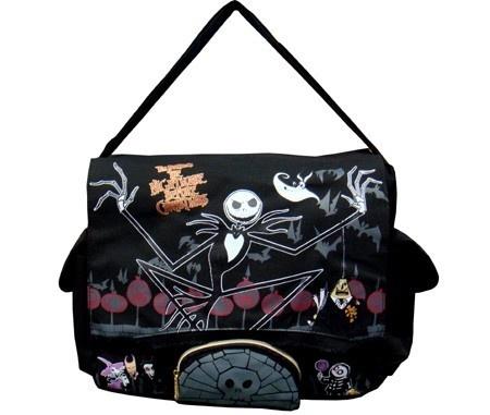 ... THE NIGHTMARE BEFORE CHRISTMAS MESSENGER BAG , Tote Bag 50082