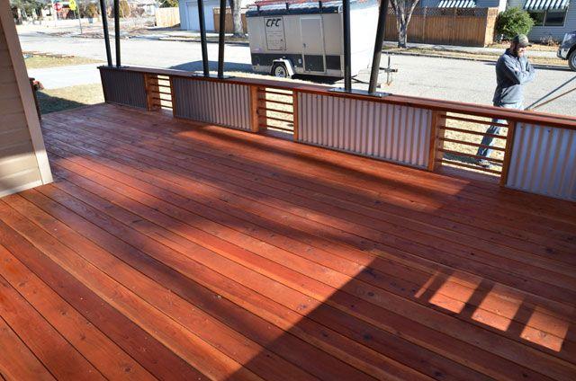 Redwood deck diy pinterest