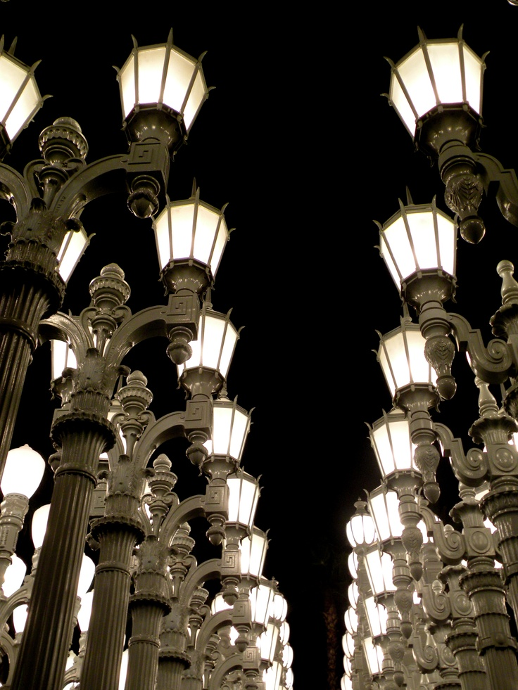 More of the Light Posts Display at the MOMA in Los Angeles May 27, 2012