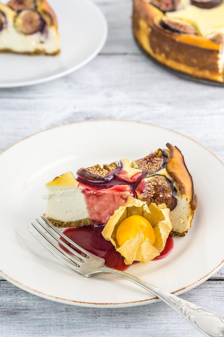 Fresh Figs With Ricotta And Honey Recipe — Dishmaps
