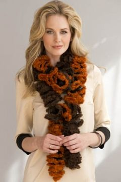 Free Pattern For Ruffled Scarf at Yarn.com