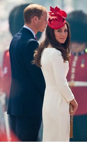 Catherine,  the Duchess of Cambridge in Ottawa,  Canada,  for Canada Day celebrations on July 1st.