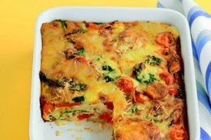 Paleo Easy Baked Frittata Casserole | Breakfast | Pinterest