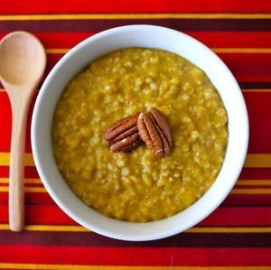 Pumpkin Spice Oatmeal in the Crock Pot | Nom nom nom; breakfast | Pin ...