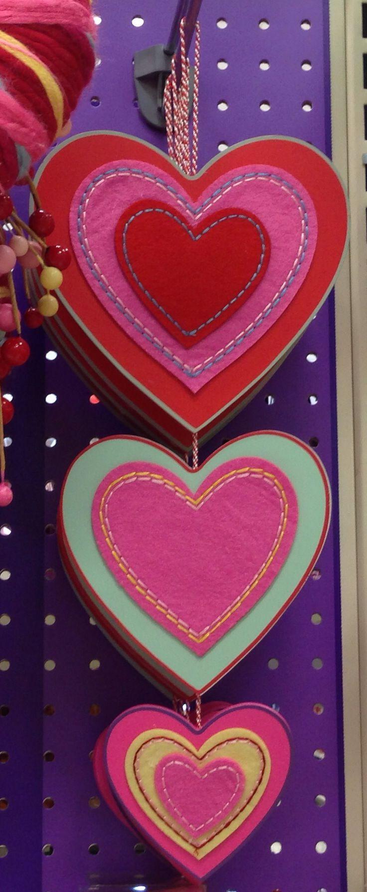 Valentine decor target colorful hearts valentines for Pinterest valentine home decorations