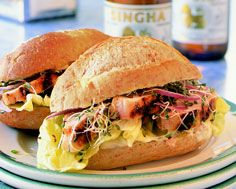 Asian Chicken Sandwich | Recipes and Food | Pinterest