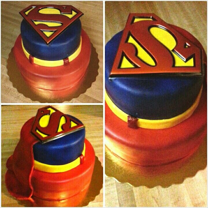 Cake Images Superman : Superman cake Cakes Pinterest