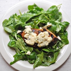 Herbed Balsamic Chicken with Blue Cheese | Healthier Main Dishes | Pi ...