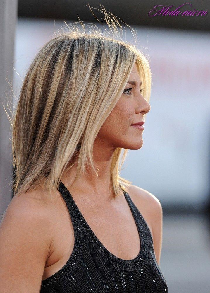Jennifer Aniston Medium Hairstyles 2012